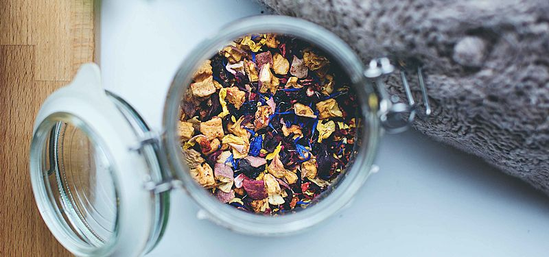 Let the well-being infuse with our teas!